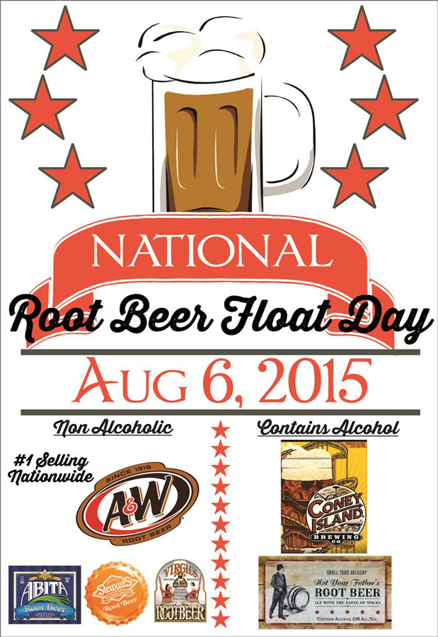 Root Beer Float Poster